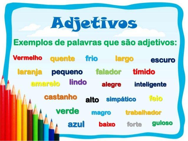 Classes de Palavras - Os Adjectivos