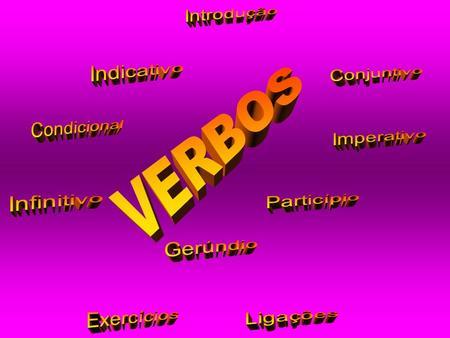 Verbo - Pretérito imperfeito do conjuntivo e condicional