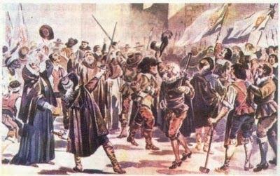 Ficha de Trabalho – A Revolta do 1º de Dezembro de 1640 e a Guerra da Restauração (1) – Soluções