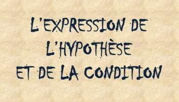 L'expression de la condition - 1