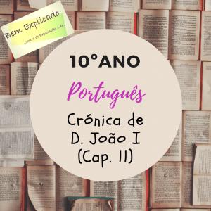 Crónico de D. João I (Cap. 11)