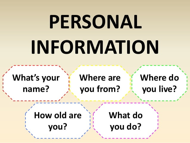 Ficha de trabalho – Personal Information (1)