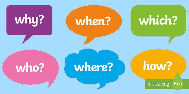 Ficha de trabalho – Question words (1) – Soluções