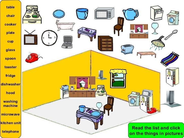 Ficha de Trabalho – Furniture in the house (2)