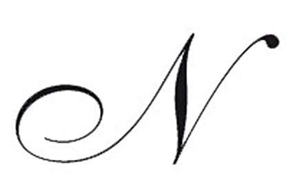 Grafema n - N