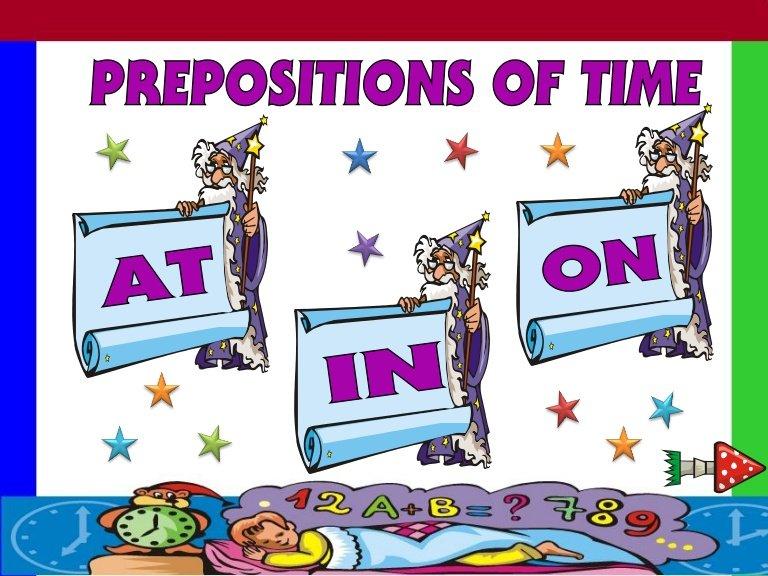 Ficha de Trabalho – Prepositions of time (2) – Soluções