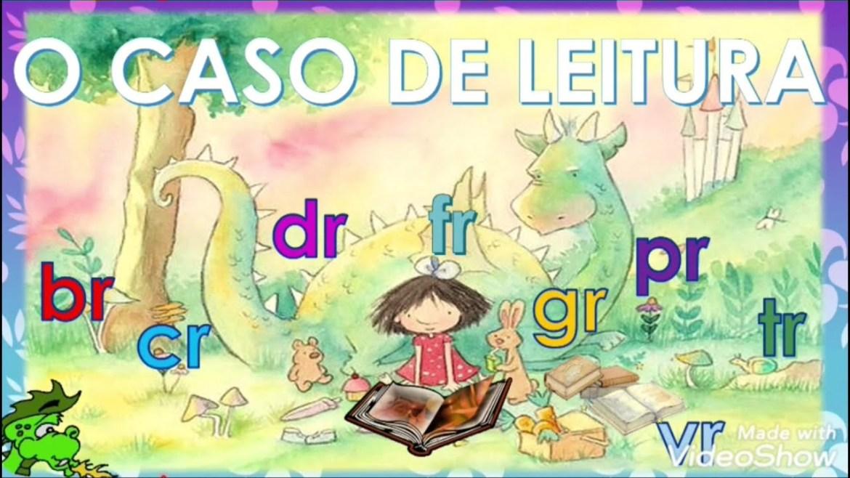 Casos de leitura pr, tr, dr, br, fr