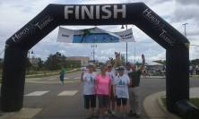 WE MADE IT TO THE FINISH!