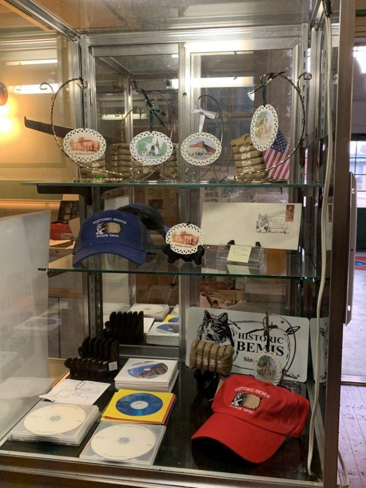 Bemis Museum's Company Store Display