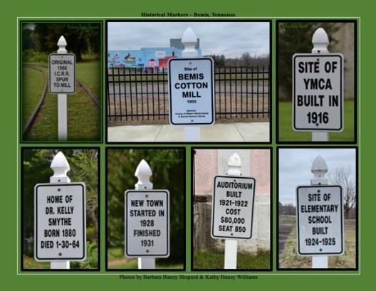 Bemis Historic Signs