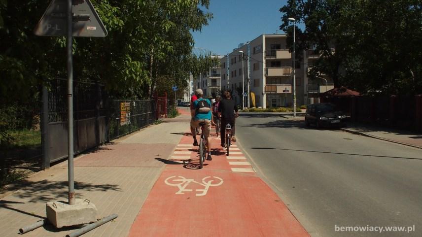 Monitoring infrastruktury rowerowej na Bemowie – 21 lipca 2016