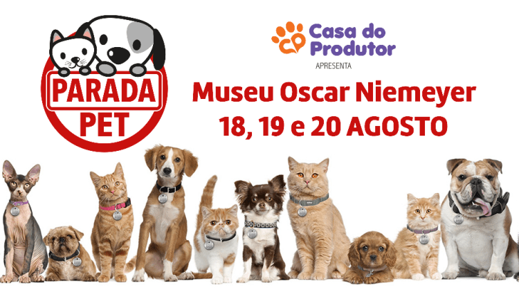 Contagem Regressiva: Parada Pet no Parcão do Museu Oscar Niemeyer