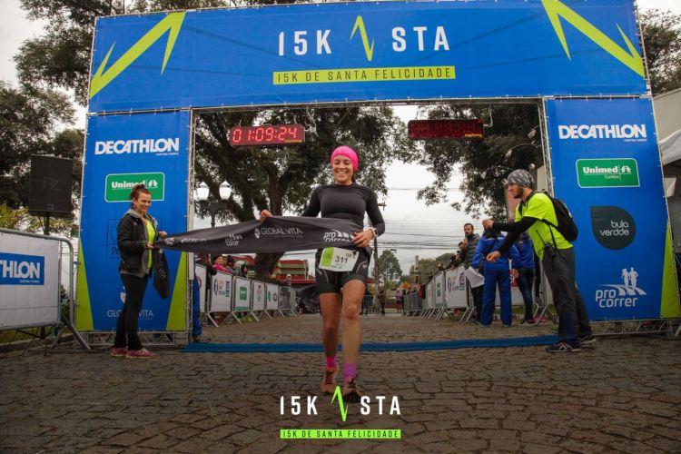 Corrida de Santa Felicidade tem atleta da Companhia Athletica Curitiba no pódio