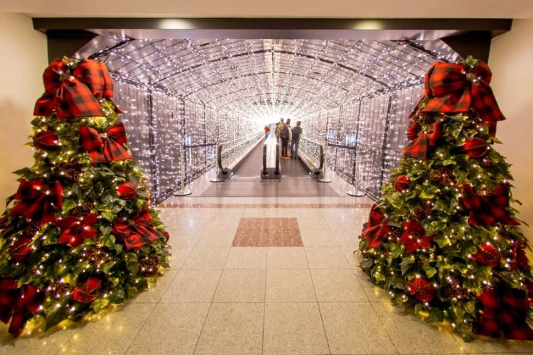 Túnel de Luzes do Shopping Mueller traz novidades para esse Natal