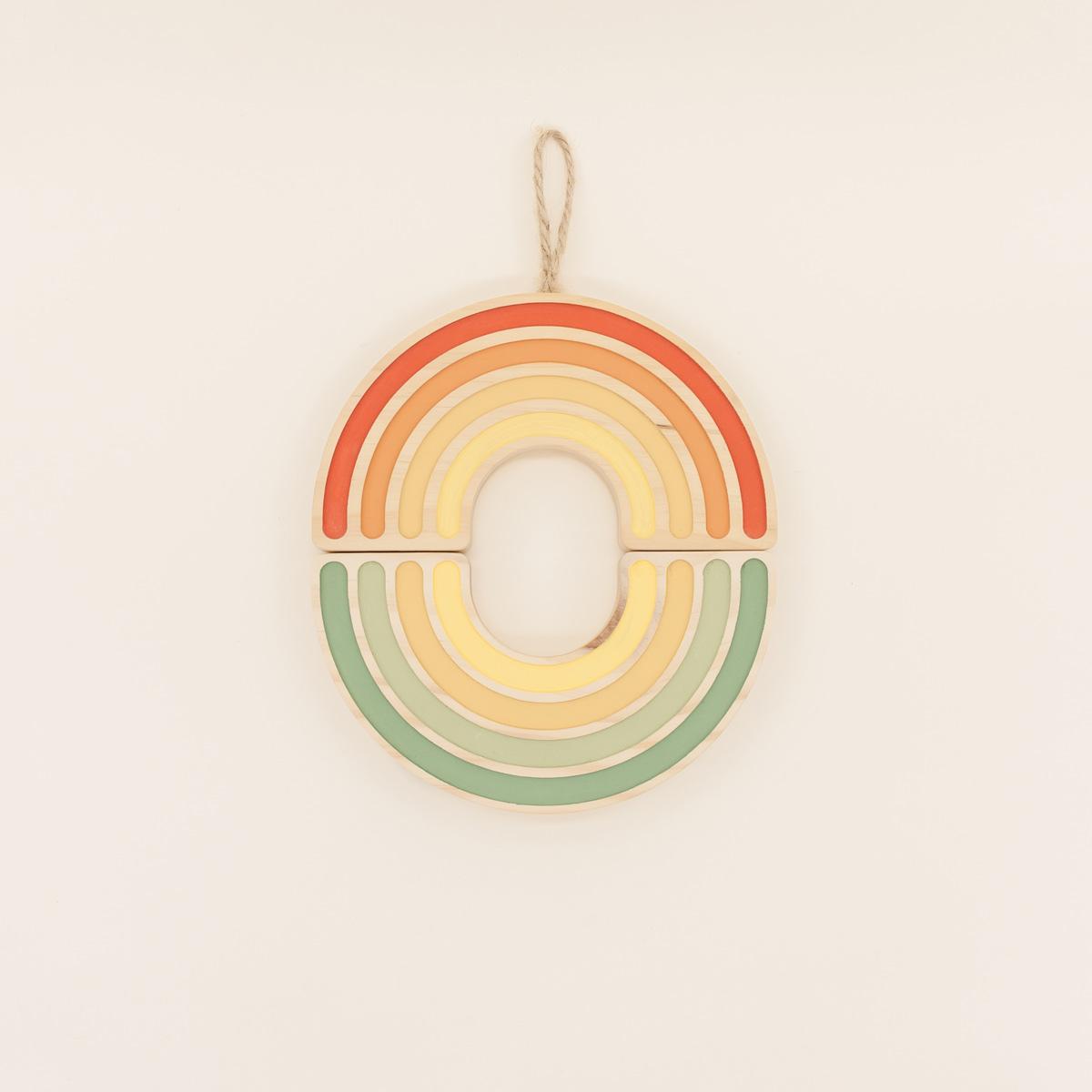 Arcoíris Decorativo Rainbow The Little Revolution Canastilla Rainbow The Little Revolution Gradient