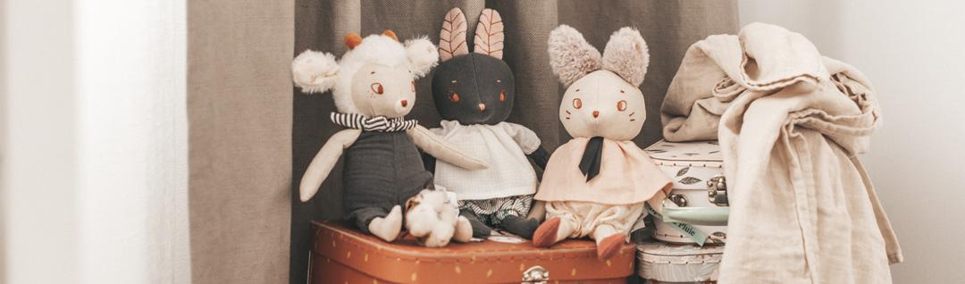 Portada peluches bebé y almacenaje Be Mummy