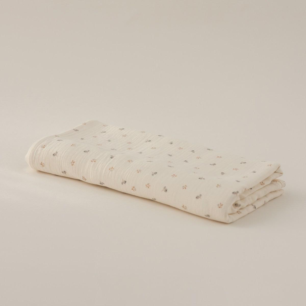 Muselina grande Algodón Orgánico Cotton Pleasures Blossom