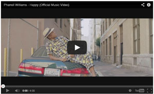 """Happy"" – Pharrell Williams"