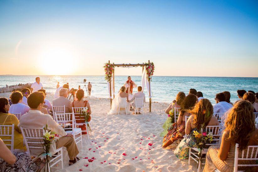 cómo organizar una boda en la playa