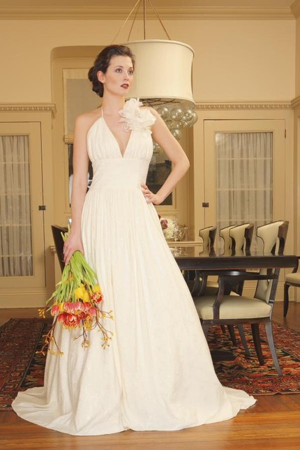 Natural Bridal's Charlotte Couture Eco-Friendly Wedding Gown $2,600
