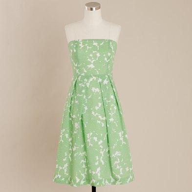 Embossed Green Lorelei Dress $118