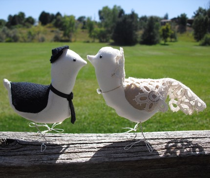 Jewish Love Birds- Cake toppers from $75 from Couture Creations