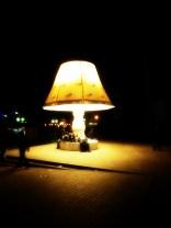 Lampe et obscurité