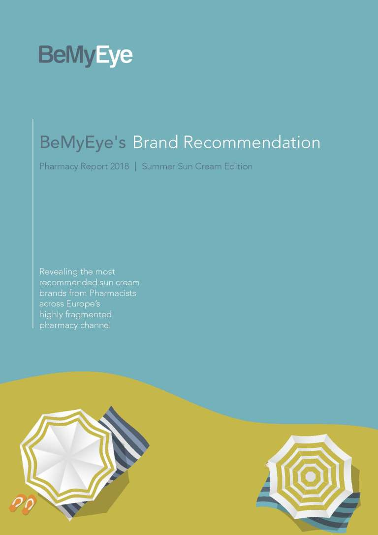 Summer cream brand recommendation report cover