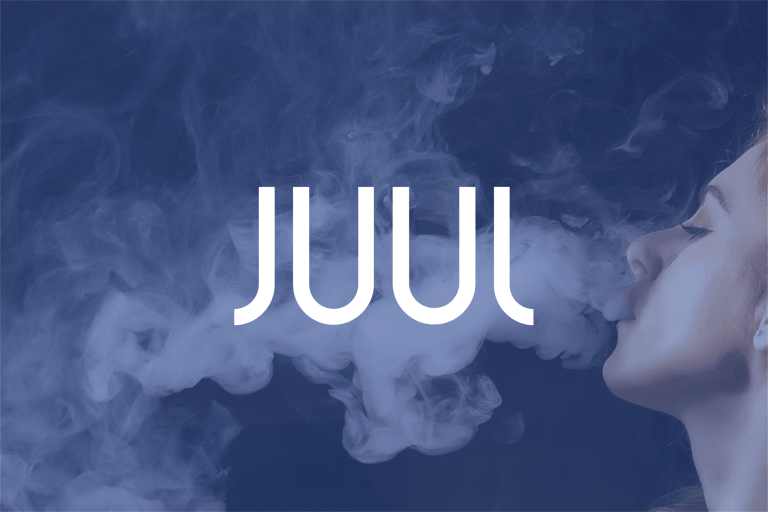Juul Labs Logo + Background