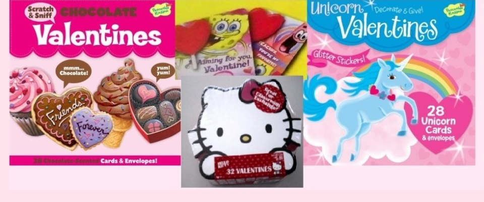 Valentine's Day Cards for Kids to Exchange