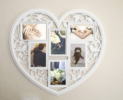 Heart Shaped Picture Frame