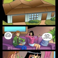 Ben 10 Ultimate Alien [Drawn-Sex]: Ben and Julie will not get bored home alone!
