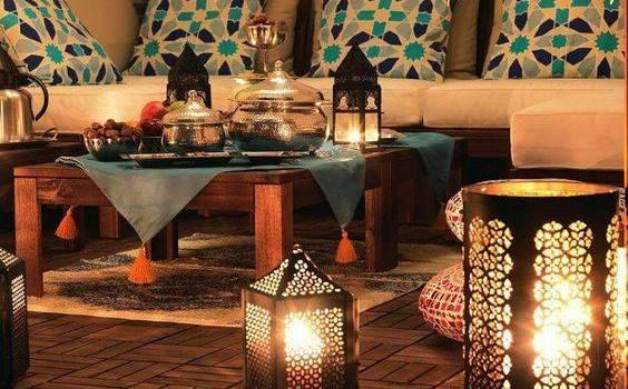 افكار لتزين البيت لاستقبال شهر رمضان بطريقة مميزة .