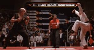 Si esto no anticipa muerte y destrucción, no sé qué lo hace. Karate Kid