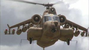 Helicópteros en el cine  Red Scorpion