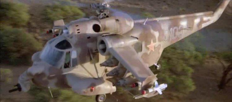 Helicópteros en el cine