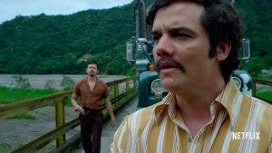 Wagner Moura es Pablo Escobar en Narcos de Netflix