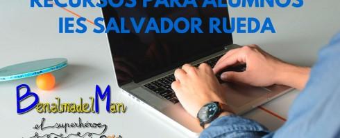 Recursos educativos para alumnos del IES Salvador Rueda