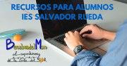 Recursos para los alumnos del IES Salvador Rueda