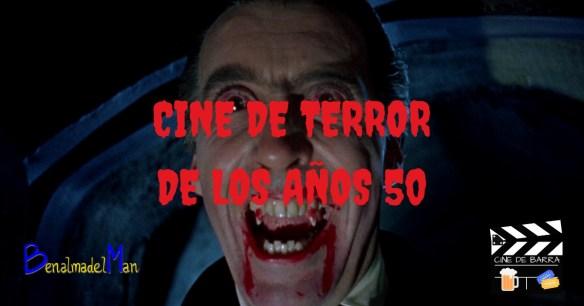 cine de terror de los 50