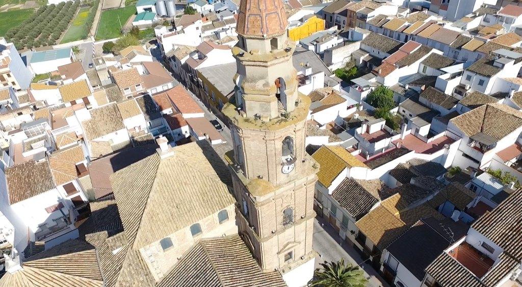 Foto aérea de Benamejí