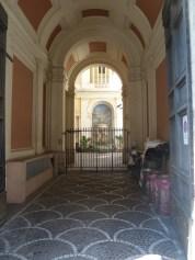 Ein Innenhof in Rom