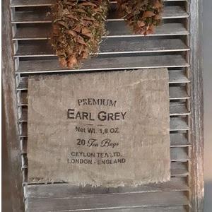Shabby linnendoek tea 30 x 45 cm
