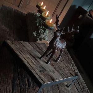 Bruin hert - leuk om mee te decoreren tijdens de feestdagen