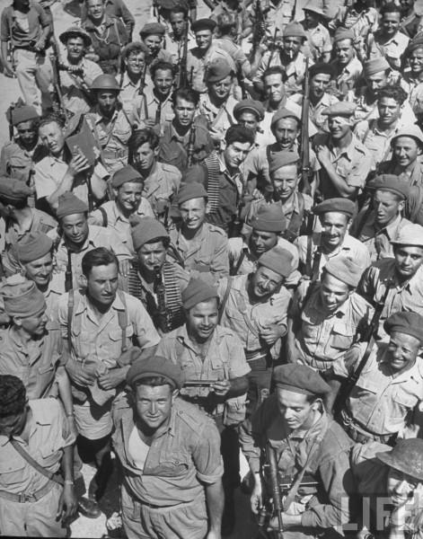 Haganah Solgiers. May 1948. Frank Schersche