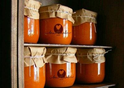 Salsa de tomate, ajo y miel