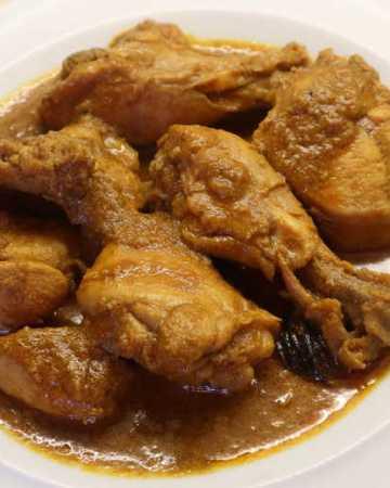 Easy Chicken Korma Slow Cooker