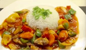 Stir Fry Vegetables In Hot Garlic Sauce
