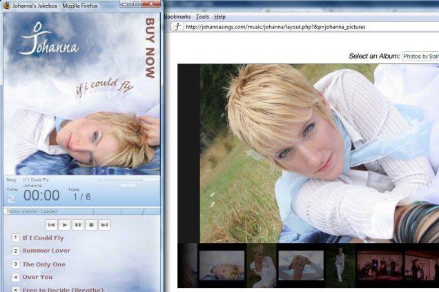 Johannasings.com
