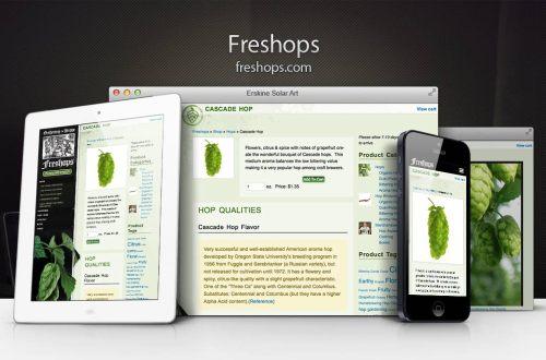 Freshops Responsive Showcase